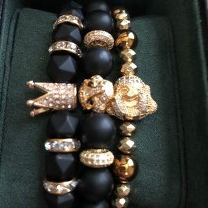 Bracelets to match your outfit.